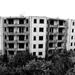 Elhagyott lakótömb-Szentkirályszabadja