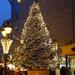 Deák F. utca karácsonyfája