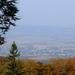 Kilátás a Borsó-hegyről Göncre