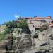Sziklába vájt feljáró a Nagy Meteoron kolostorba