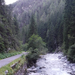 Landwasser a Zugenschlucht-ban