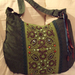 12 Zöld barna táska