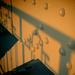 Narancsszínű korlát -sz