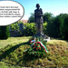 Hármasfalu, Erdély-Szentimre szobor (1)