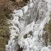 Lillafüredi vízesés jégbefagyva