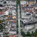 Bergen látképe a Fløyen felől