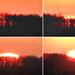 Téli napfelkelte képekben