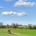 Táj Tavasz Felhők
