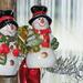 Hóemberek a karácsonyfán