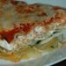 spenótos lasagna
