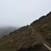 Tongariro A nyereg közelében