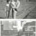 Juranics utcai üres telek és a későbbi ház 1965
