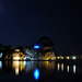 Cameo Island at night
