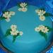 Kis virágos torta
