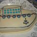 kishajó torta