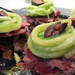 Édes-savanyú padlizsános borjúnyelv
