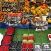Bécs - Naschmarkt októberi gyümölcsök