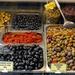 Bécs - Naschmarkt olajbogyó variációk