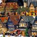 Bécs - Wiener christkindlmarkt házikók