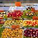 Bécs Naschmarkt - Töltött tök cukkini szölőlevél papprika paradi