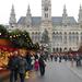 Bécs - karácsonyi vásár nappal