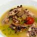 Costa -Polpo arrosto pomodorini passiti all origano e salsa di o