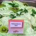 Petrezselymes kiwi fagyi