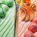 UKBA fagyi zöld - rózsaszín
