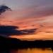 Tahitótfalui naplemente