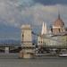 Budapest felett az ég....