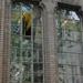 Egyetemi könyvtár ablakai.