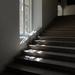 Lépcsősor vezet a felső kiállítótermekhez...