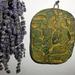 Inka kerámia falikép friss levendulával. (konyha részlete)
