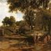 Rákospalota Lotz Károly festményén
