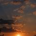egy kis hanyag naplemente az ablakomból