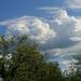 Tejszínhab felhők