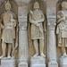 Árpád-kori harcosok szobrai - Budai Vár, Halászbástya