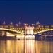 Combino villamosok a Margit hídon