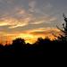 egy csengeri naplemente