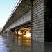 Árpád híd Pesti hídfő 0608-án reggel