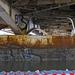 híd alatt Óbudán