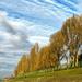 Duna felhőkkel