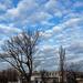 Béke tér felhőkkel