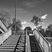 felüljáró lépcső