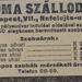 NefelejcsUtca6-RomaSzalloda-1913Julius-AzEstHirdetes