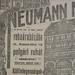 NeumannAruhaz-MuzeumKrt1B-1913Oktober-AzEstHirdetes