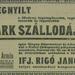ParkSzallo-1913Szeptember-AzEstHirdetes