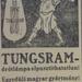 Tungsram-1913Julius-AzEstHirdetes