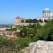 Esztergom: Kilátás a Kálvária domb feljárójáról