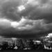 Vihar előtt a faluvégen